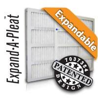 Expandable Pleat Filters