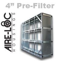 HEPA Crank-Lock Housing 4 Inch Pre-Filter