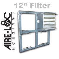 HEPA Grid Assembly 12 Inch Filter