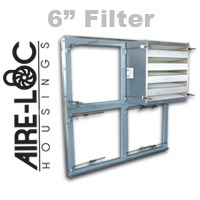HEPA Grid Assembly 6 Inch Filter