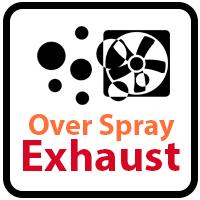 Over Spray Exhaust