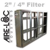 Double Flat-Bank Housing 2/4 Filter